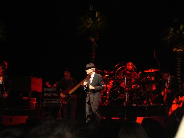 Leonard Cohen at Coachella 2009