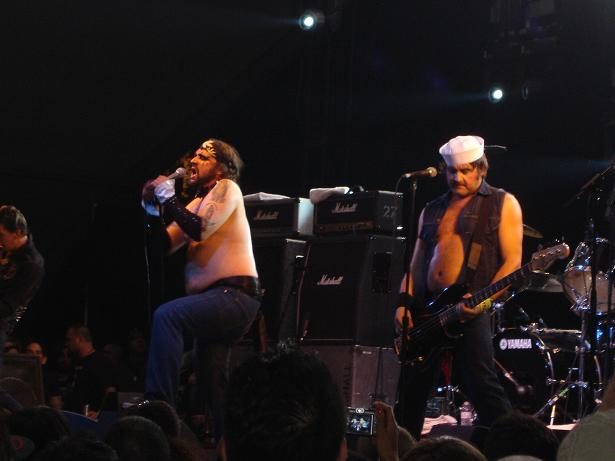 Turbonegro at Coachella 2009