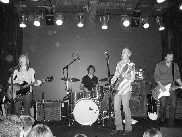 Live in Seattle. L/R: Wennerstrom, Dave Colvin, Ebaugh, Mark Nathan
