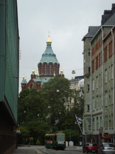 typical russian 'onion dome' churches...