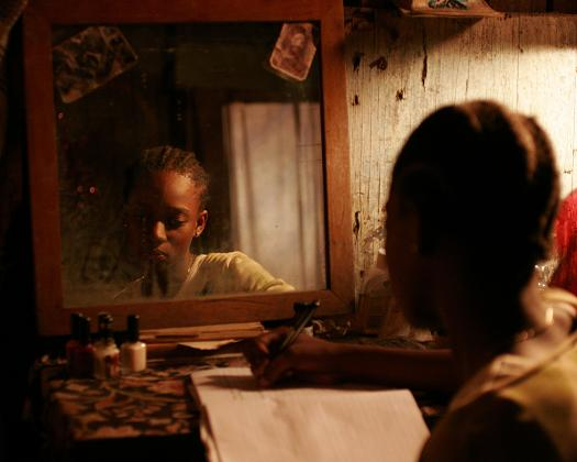 "Renel Naomi Brown in ""Rain"""