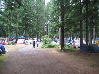 Shady Grove Tent City