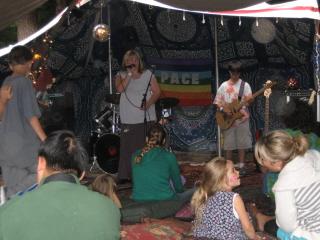 Little Seahorse music cadets rockin' the Casbah Tea Tent