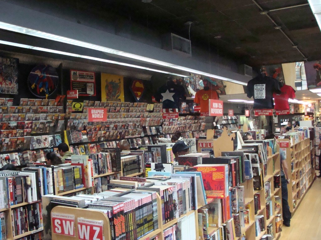 Midtown Comics (Located on 40th Street)