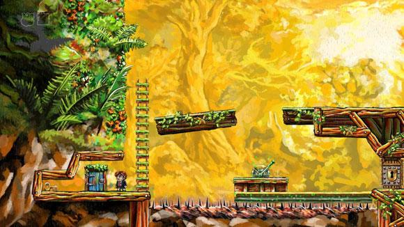 2008's Braid, developed independently for the XBOX 360, has been considered a masterpiece, and was highly praised for the unique puzzles it presented. (image courtesy of www.wikipedia.org)