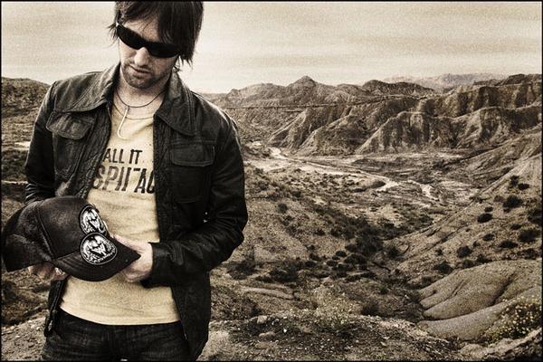Tim in Almeria, Spain (2004) Pic: Dave Willis