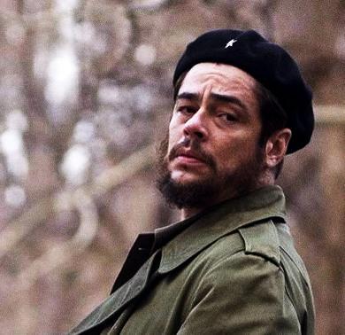 "Benicio del Toro as Ernesto ""Che"" Guevara"