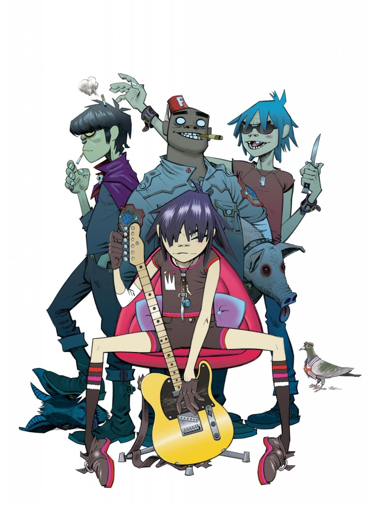 "*Courtsey of the Gorillaz website* Fun Fact: ""Space Shot was inspired by the band listening to Outkast and Gorillaz"" - Mark Hamilton"