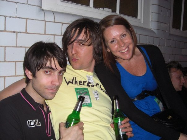 Michael with Steve Timmis (Ashofficial Webmaster) and his girlfriend Nikola