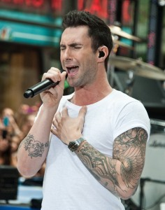 Maroon 5 in Concert on NBC's Today Show Summer Concert Series at Rockefeller Plaza in New York City - June 29, 2012